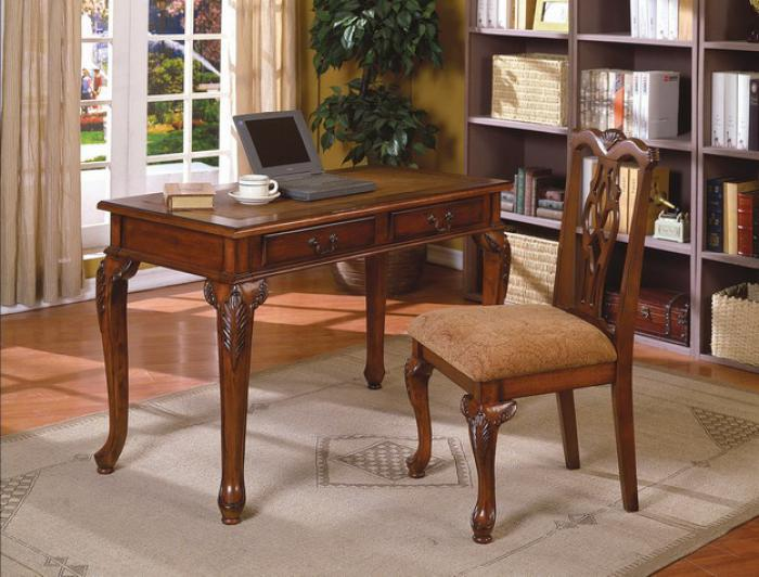 fairfax home office desk and chair baybrin rustic brown home office small