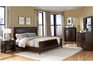 Espresso Finish King Bed